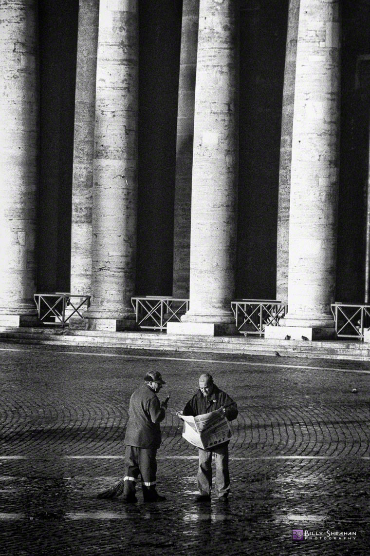 Morning_Break_at_Vatican_City_Italy-123_30_BW_D