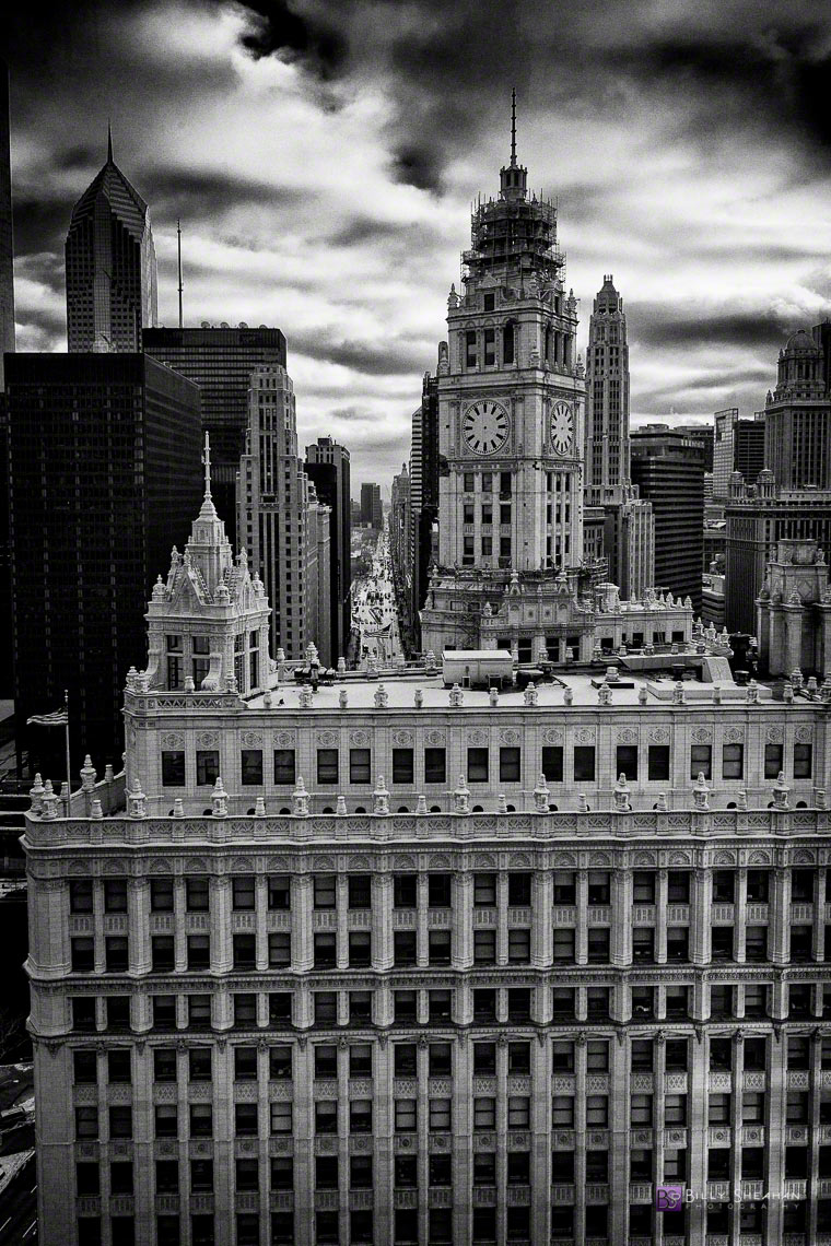 Wrigley Building, Chicago IL USA